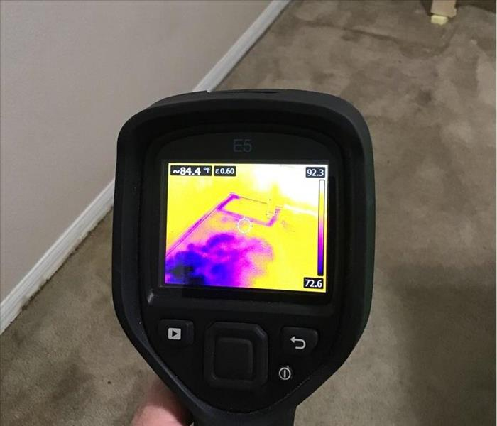 Thermal Camera in Action